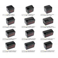 China Hot Runner Injection Molding For Motorcycle Battery Box/Container Mould on sale