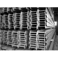 Hot Rolled I Beam Galvanized Steel Products With GB / JIS / EN And JIS Standard Manufactures