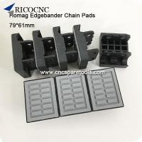 China Machinery accessories 79x61mm Conveyor Chain Track Pads for HOMAG Brandt edgebander on sale