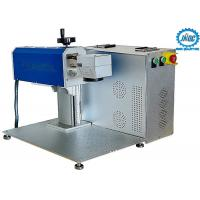 Mini Co2 Laser Marking Machine High Precision Machining With Air Cooling Manufactures