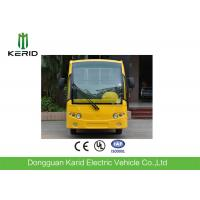 Low Speed 48V 5KW Mini Electric Sightseeing Car / 8 Seats Electric Shuttle Bus Manufactures
