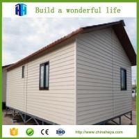 Quality low cost steel frame prefab movable sandwich panel house homes for sale