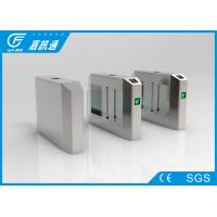 China Electro Mechanical Pedestrian Swing Gate , Outdoor Gym Turnstile Security Doors on sale
