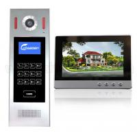 China For Building Touch Screen Sip Wires Video Door Phone Digital 4+2 wire video intercom system home security on sale