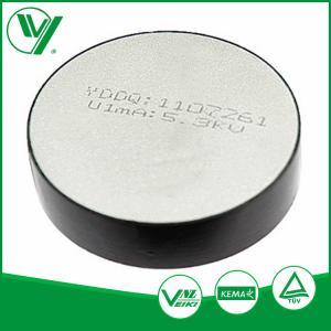MOA Metal Zinc Oxide Varistor Resistor Disc With KEMA For Surge Arrester Manufactures