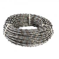 diamond wire saw for reinforced concrete with 40 beads Rubber & Spring fixing Manufactures