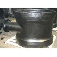 PN10 PN16 PN25 Ductile iron fittings DN500 to DN800 double socket level invert tee with flange branch Manufactures