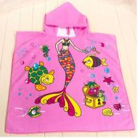 60*120cm 100% polyester hooded baby bath towel,hooded towel for babies Manufactures