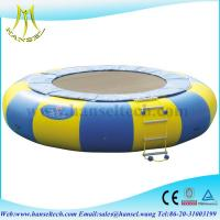 China Hansel New Arrival Orbit Water Trampoline Combo With Durable Material for sale