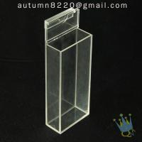 China BO (65) acrylic box with hinge lid on sale