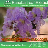Banaba Leaf Extract Corosolic Acid Manufactures