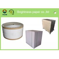 High Stiffness Folding Box Board Sheets Clay Coated News Back Paper Double Side