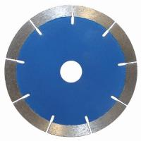 Hot - Pressed Segmented Diamond Cutting Saw Blade For Dry Cut Stone Manufactures