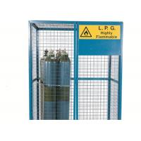 China Large Size Gas Cylinder Cages Air Conditioner Cage Anti Theft For Warehouse              on sale