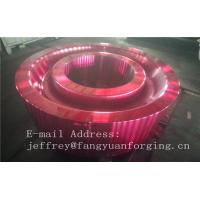 ASTM AISI  DIN 36CrNiMo4 JIS SNCM439 Forged Gear Blank Internal Gear RIng Blanks Alloy Steel Manufactures