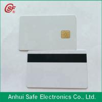 smart inkjet pvc magnetic stripe card with chip Manufactures