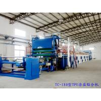 Durable PVC Coating Machine Synchronized / Separate Control Rail Width Manufactures