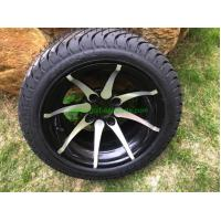 China 12 Chrome Wheel and Kenda ProTour 205/35R12 Golf Cart Tire No Nuts on sale