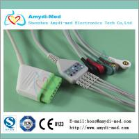 BSM-2301/BSM-2353/BSM-5100 Nihon Kohden ecg cable with leadwires Manufactures