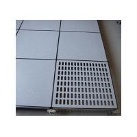 China 30mm or 35mm thickness cement core panel HPL Anti Static Raised Floor For Network Room  on sale