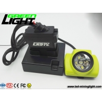 China 25000lux Work Lighting High Power Headlamps LED Mining Light With Stainless Clip 5v 2a Charger on sale