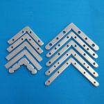 Customized Size LED Light Fixture Parts Metal Corner Bracket Lock Hardware Of Light Box Manufactures