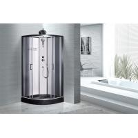 Modern Fully Enclosed Showers Units Matt Black Profiles CE SGS Certification
