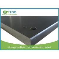 China 16 mm Laboratory Epoxy Worktop For Lab Bench Strong Acid Alkali Chemical Resistance on sale
