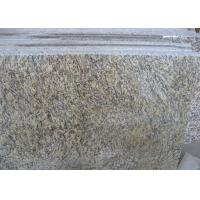 Tiger Skin Gold Yellow  Granite Countertop Tiles , Granite Kitchen Tiles Polished Manufactures
