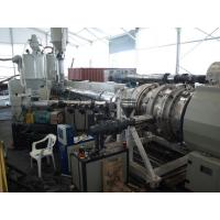 Under Ground HDPE Drainge Solid Pipe Machine 800kg/h Max Output Easy To Operate for sale