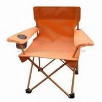 China Beach chair/folding camping chair, with carry bag on sale