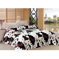 Cows Graphic Comforter Winter Quilt Sets With 150gsm Or 200gsm Polyester Filling Manufactures