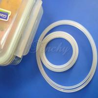 Pure Airtight Box Silicone Gasket Silicone Sealing Ring With Customized Design Manufactures