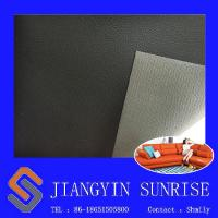 Anti Static Pvc Synthetic Leather / Sofa Bed Faux Leather Material For Upholstery Manufactures