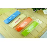 China Cute Office Stationery Items , Blue / Red / Yellow Plastic Colorful Pencil Case For Work on sale