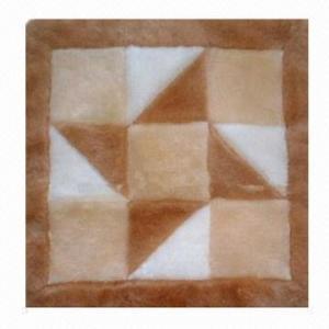Patch Work Sheep Skin Sofa Pad Manufactures
