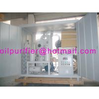 High Voltage Transformer Oil Regeneration Purifier Manufactures