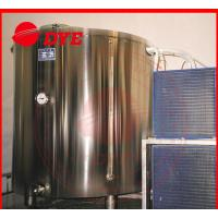 5BBL Cold-drawing Storage Water Tank For Beer , Stainless Steel Jacketed Tanks Manufactures