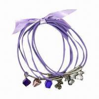 OEM CCB Fashionable Cord Bracelet in Various Designs, Acrylic Drops, Ideal for Promotional Gifts Manufactures