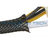 Fire Resistant PET Expandable Braided Sleeving For Cable Hose Protection