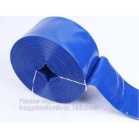 China Garden Spiral 1 Gallon Pvc Layflat Hose on sale