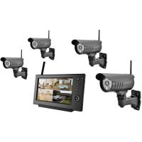 Outdoor Bullet Wireless Outdoor Security Camera Systems For Supermarket Manufactures