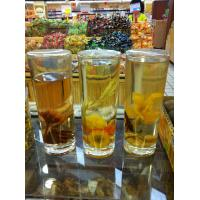 Buy cheap Transparent glass cup,juice glass,Roast flowers glass from wholesalers