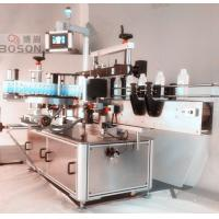 Front Side Square Bottle Labeling Machine / Equipment with Re - orientation Manufactures