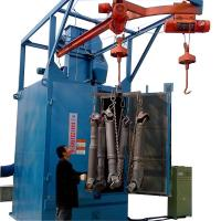High Efficiency Hook Type Shot Blasting Machine Spare Parts Rust Cleaning Machine Manufactures