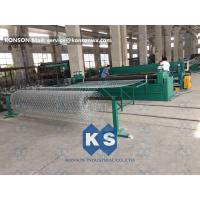 Hexagonal Gabion Box Machine Galvanized Galfan Or PVC Coated Wire Mesh 80×100mm Manufactures