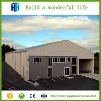 2017 Steel frame structure prefab garage cheap warehouse for sale Manufactures