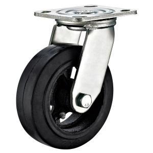 Buy cheap Swivel 8 Heavy Duty Casters , Heavy Duty Industrial Trolley Wheels Plate Fitting from wholesalers