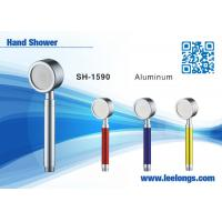 Spraying Space Aluminum Alloy Metal Hand Held Shower Head Adjustable Manufactures