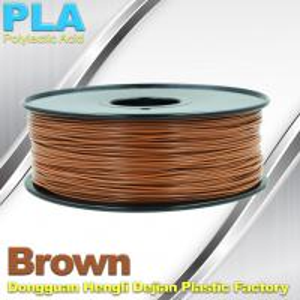 Brown PLA Filament Makerbot 3D Printer Materials  1kg  / spool Manufactures